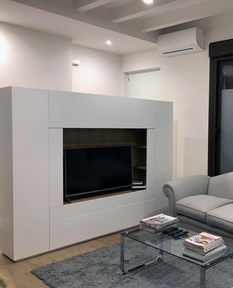 mueble, a medida, armario, TV